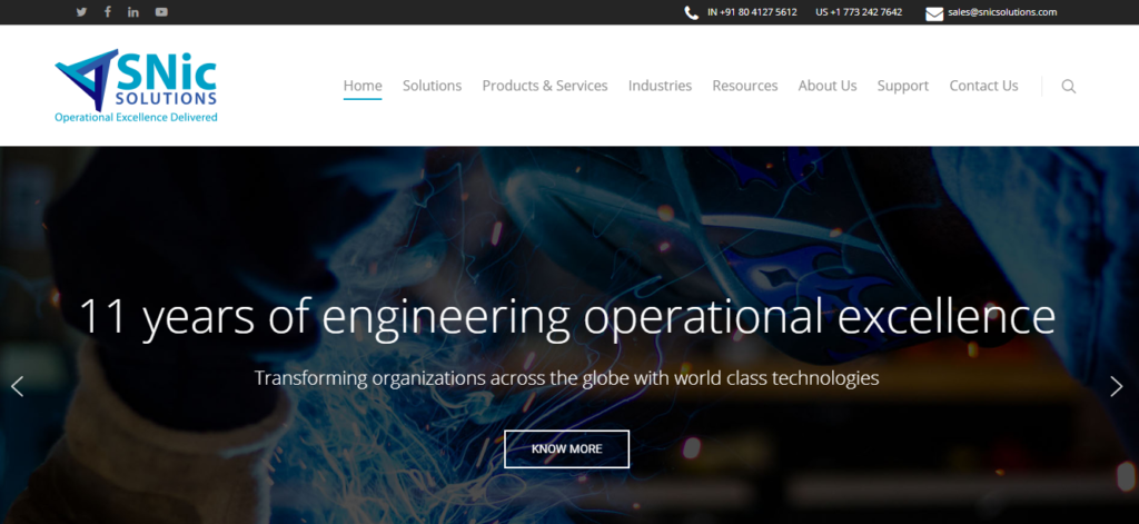 Introducing our brand ew website | SNic Solutions